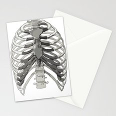 Vector Ribcage Stationery Cards