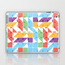 BP 3 Squares and Triangles Laptop & iPad Skin