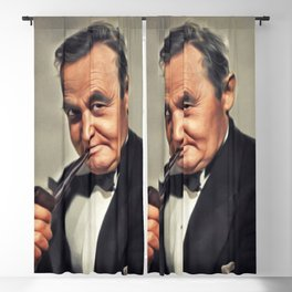 Barry Fitzgerald, Vintage Actor Blackout Curtain