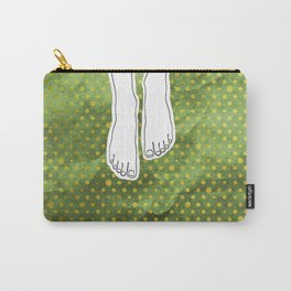 Barefoot Green Carry-All Pouch