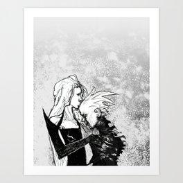 ALICEXJACKIE2 Art Print