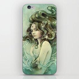 Zodiac Aquarius iPhone Skin