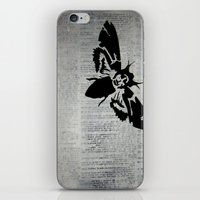silence of the lambs iPhone & iPod Skins featuring Silence of the Lambs by Kat Phelps