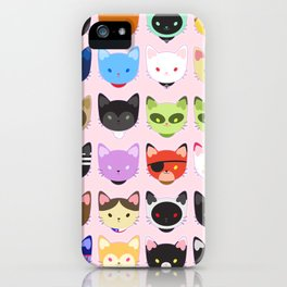 Love character cats iPhone Case