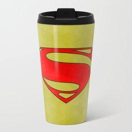 Super Hero, comics Metal Travel Mug