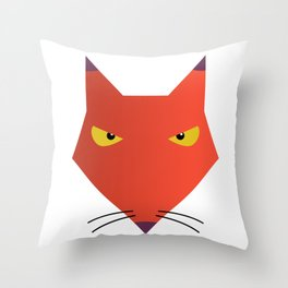 Katz -  Courage the Cowardly Dog Throw Pillow
