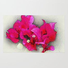 Bougainvillea Flowers Rug