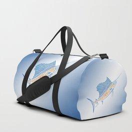 Tribal Sailfish Duffle Bag