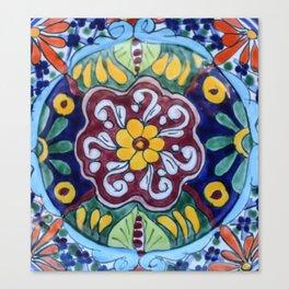 Talavera Eleven Canvas Print