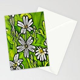 Fractal Stitchwort Stationery Cards