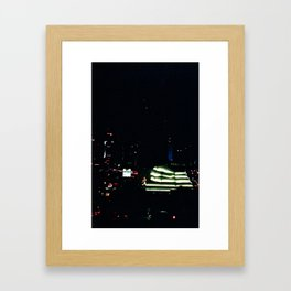 Miami Night (Film) Framed Art Print