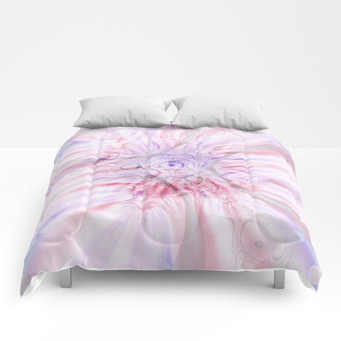 Soft Layers Pink Comforters