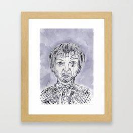 Dr. Jekyll and Mr. Hyde Transformation part V Framed Art Print