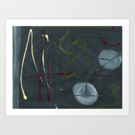 Overlooking Outer Space Art Print