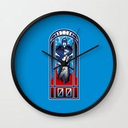 Eva Nouveau 00 Wall Clock