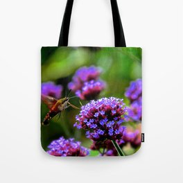 The Hummingbird Moth Tote Bag