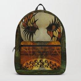 Surrealistic Venetian Mask Backpack
