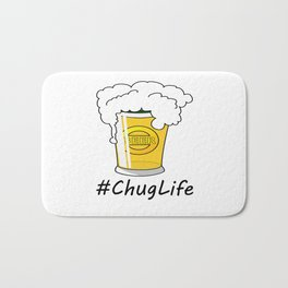 #ChugLife Beer Mug Bath Mat