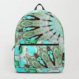 Tropical Floral Mandala Backpack