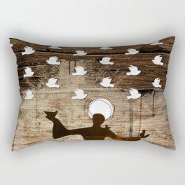 Saint Francis of Assisi Rectangular Pillow