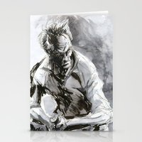 clint eastwood Stationery Cards featuring Clint Eastwood by onez