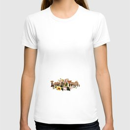 Love the Truth Floral motto Prang 11 T-shirt
