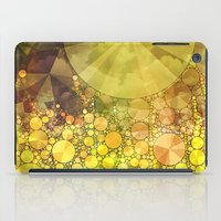 sunshine iPad Cases featuring Sunshine by V. Sanderson / Chickens in the Trees