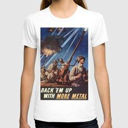 Back em up T-shirt