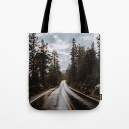 Rainy Day Adventures in the Forest Tote Bag