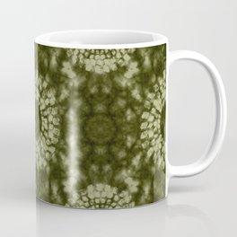 Khaki Shibori Coffee Mug