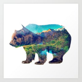 Nature Giant Art Print