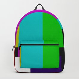 SMPTE Color Bars (as seen on TV) Backpack