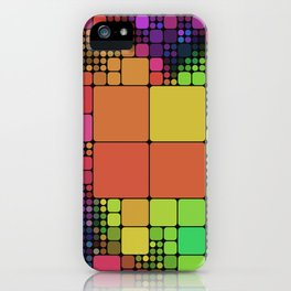 DISCO GEOMETRY  iPhone Case