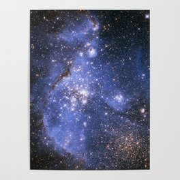 Magellan Nebula Poster