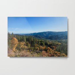 Fall Sunrise Photography Print Metal Print