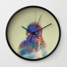 The Space Beyond - Astronaut Wall Clock