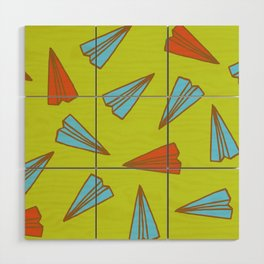 Paper Planes Wood Wall Art