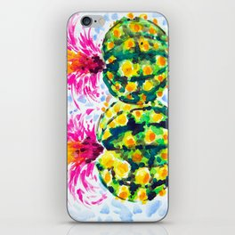 Crazy Hair Day Cactus iPhone Skin