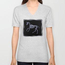 Unicorn Fossil Unisex V-Neck