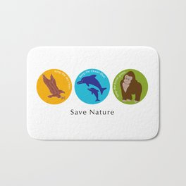 Save Nature_02 Bath Mat