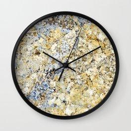 Granite Pattern 33 Wall Clock