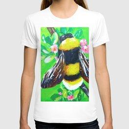 BumbleBee In The Garden T-shirt