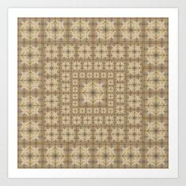 Morocco Mosaic 4 Art Print