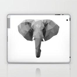 Polygonal elephant portrait Laptop & iPad Skin