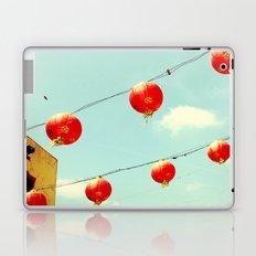 Lanterns III, Chinatown Laptop & iPad Skin
