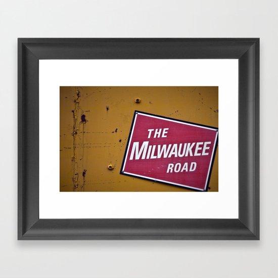 The Milwaukee Road Framed Art Print