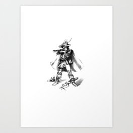 Gilspin Art Print