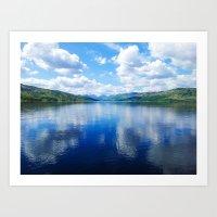 Loch Katrine: The Trossachs Art Print