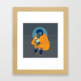 Careful Framed Art Print