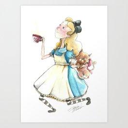 Alice & Dina Art Print